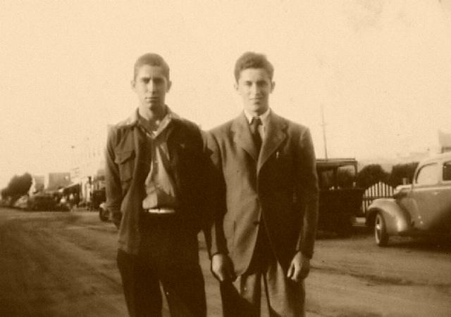 Ray & Carl Montavon Circa 1936